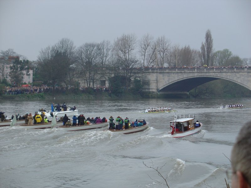 Boat Race Finish, 2005