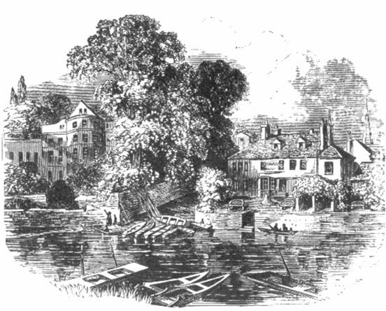 The Swan at Ditton in 1859