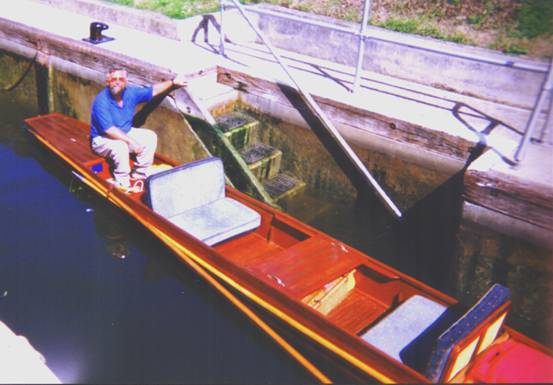 Shepperton Lock 1999