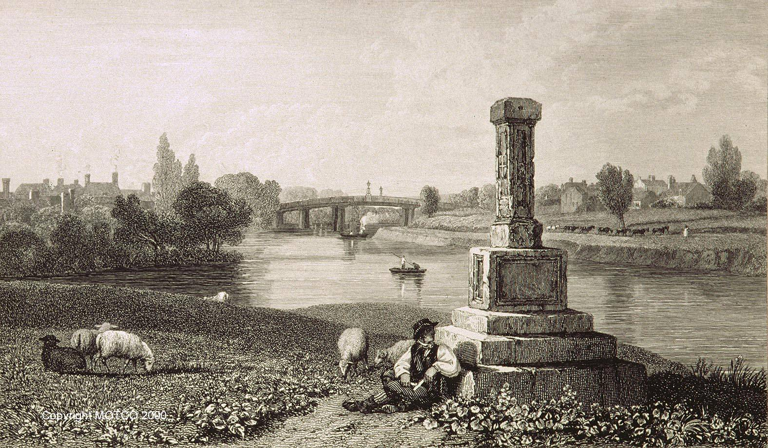 London Stone Staines 1821
