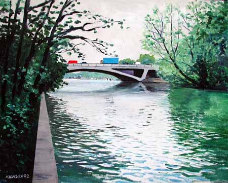 Runnymede (M25) Bridge, Doug Myers © 2005