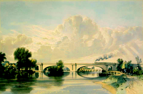 Maidenhead Railway Bridge, 1846