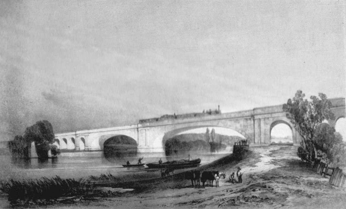 Maidenhead Railway Bridge, Dolby, 1840