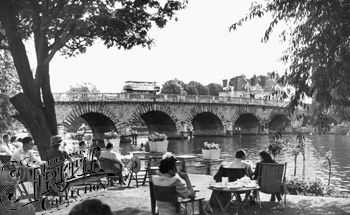 1955:  Maidenhead Bridge, Francis Frith