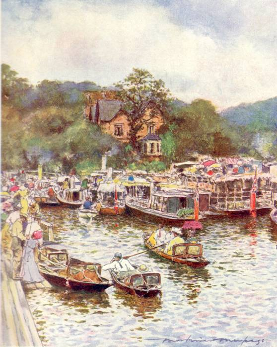 Below Boulter�s Lock, Mortimer Menpes, 1906