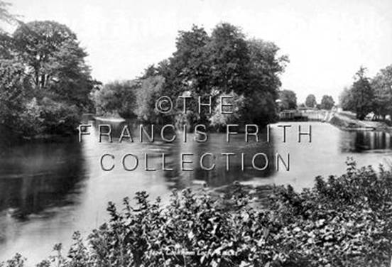 1899:  Cookham Lock and Odney Approach, Francis Frith