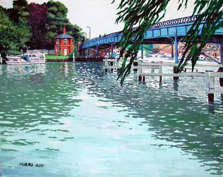 Cookham Bridge, Doug Myers © 2005