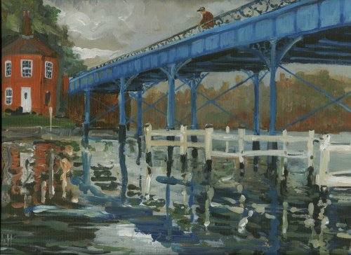 Cookham Bridge, Timmy Mallett © 2002