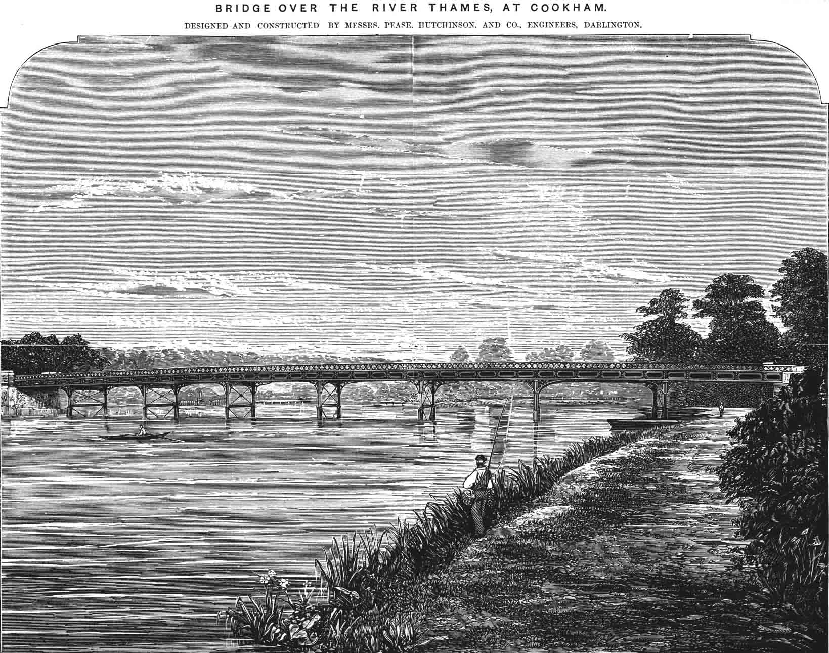 Cookham Bridge 1872