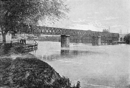Second Bourne End Railway Bridge, James Dredge, 1897
