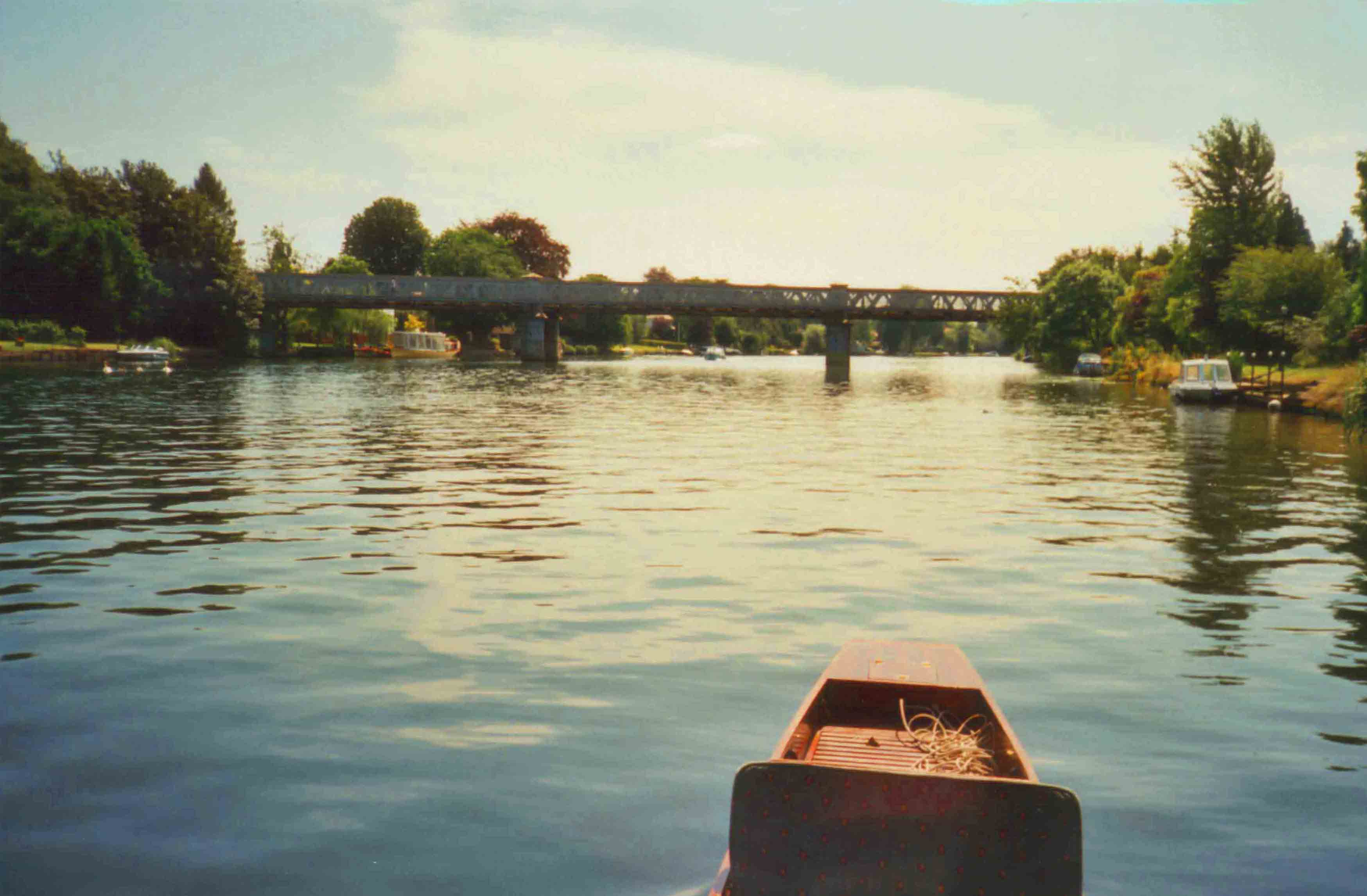 Bourne End Railway Bridge 1999