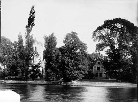Bisham Church, Henry Taunt, 1870