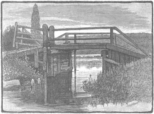 Towpath Bridge above Marlow, George Leslie, 1870s