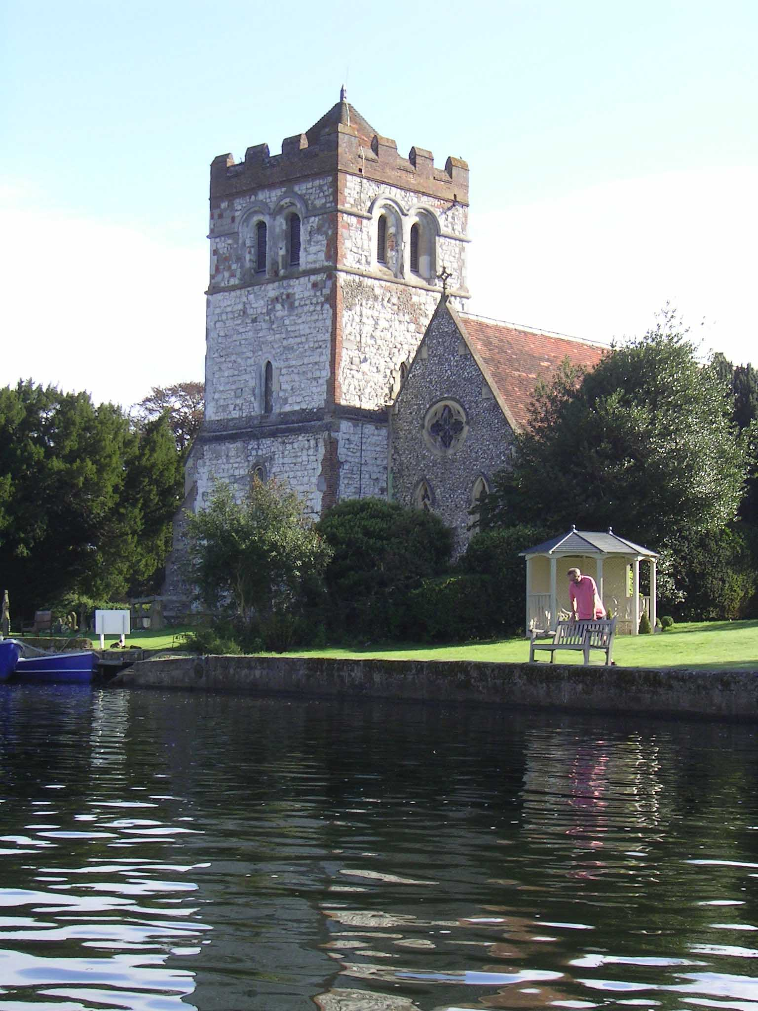Bisham Church, 2004