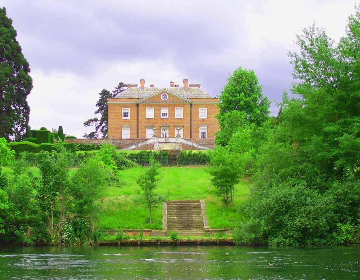 Culham court where thames smooth waters glide