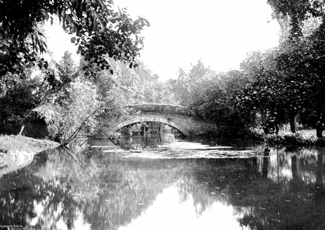 Hennerton Bridge, 1901