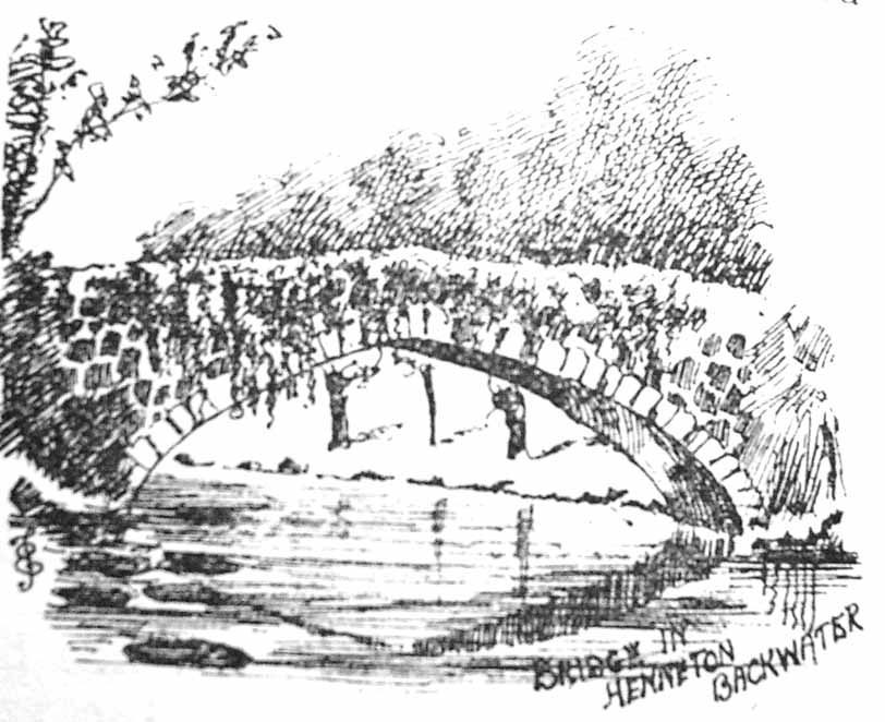 Hennerton Bridge, 1889