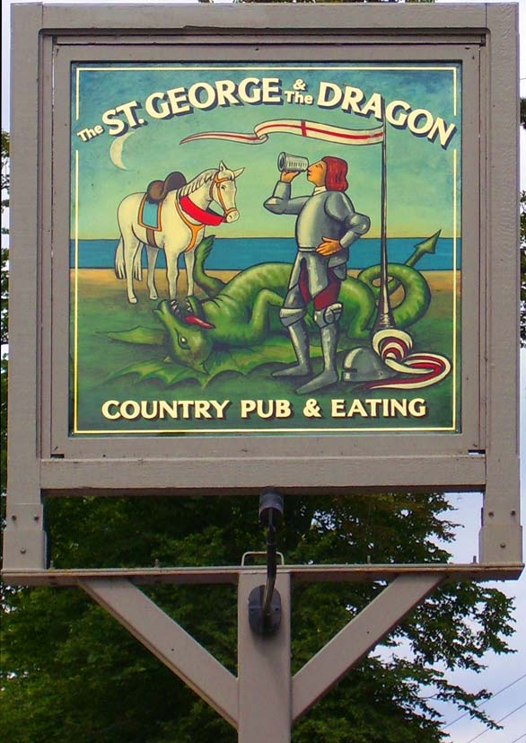 New pub sign in 2006