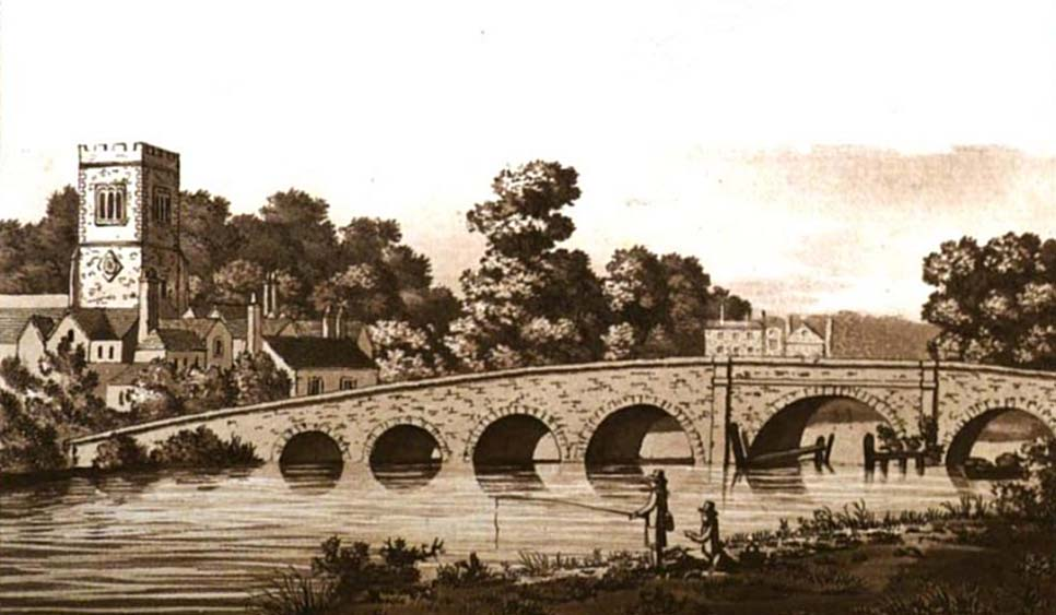 Sonning Bridge, Ireland, 1792
