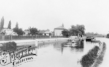 1890:  Above Caversham Lock, Francis Frith