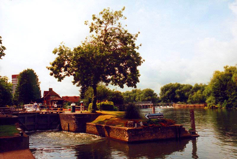 Caversham Lock, 1999