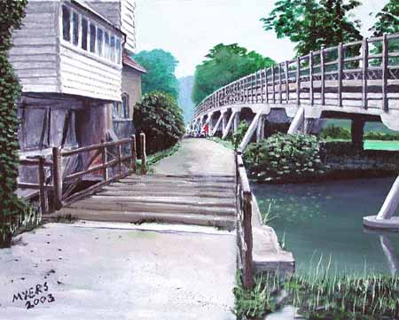 Goring Bridge, Doug Myers © 2005