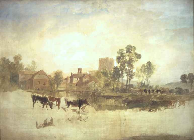 Goring Mill, Turner, unfinished, 1805