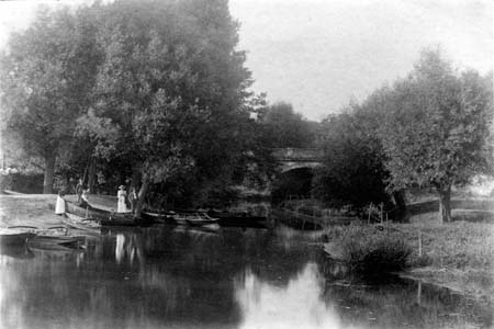 Dorchester Thame Bridge, Frederick John Hall