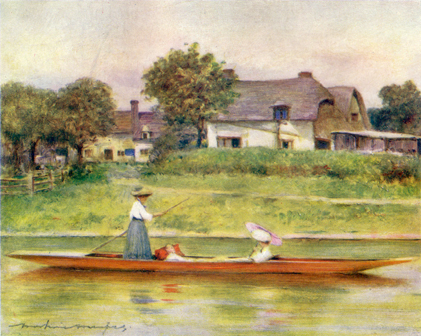 Dorchester Backwater, Mortimer Menpes, 1906