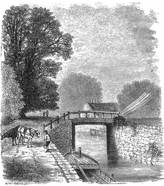 Berks and Wilts Canal, Joel Cook, 1882