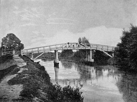 Occupation Bridge, Culham Cut, James Dredge, 1897