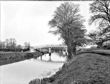 Culham Lock Cut Footbridge, Henry Taunt, 1884