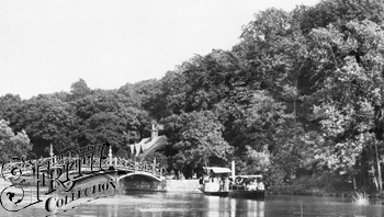 1890:  Nuneham, the Oxford Steamer, Francis Frith