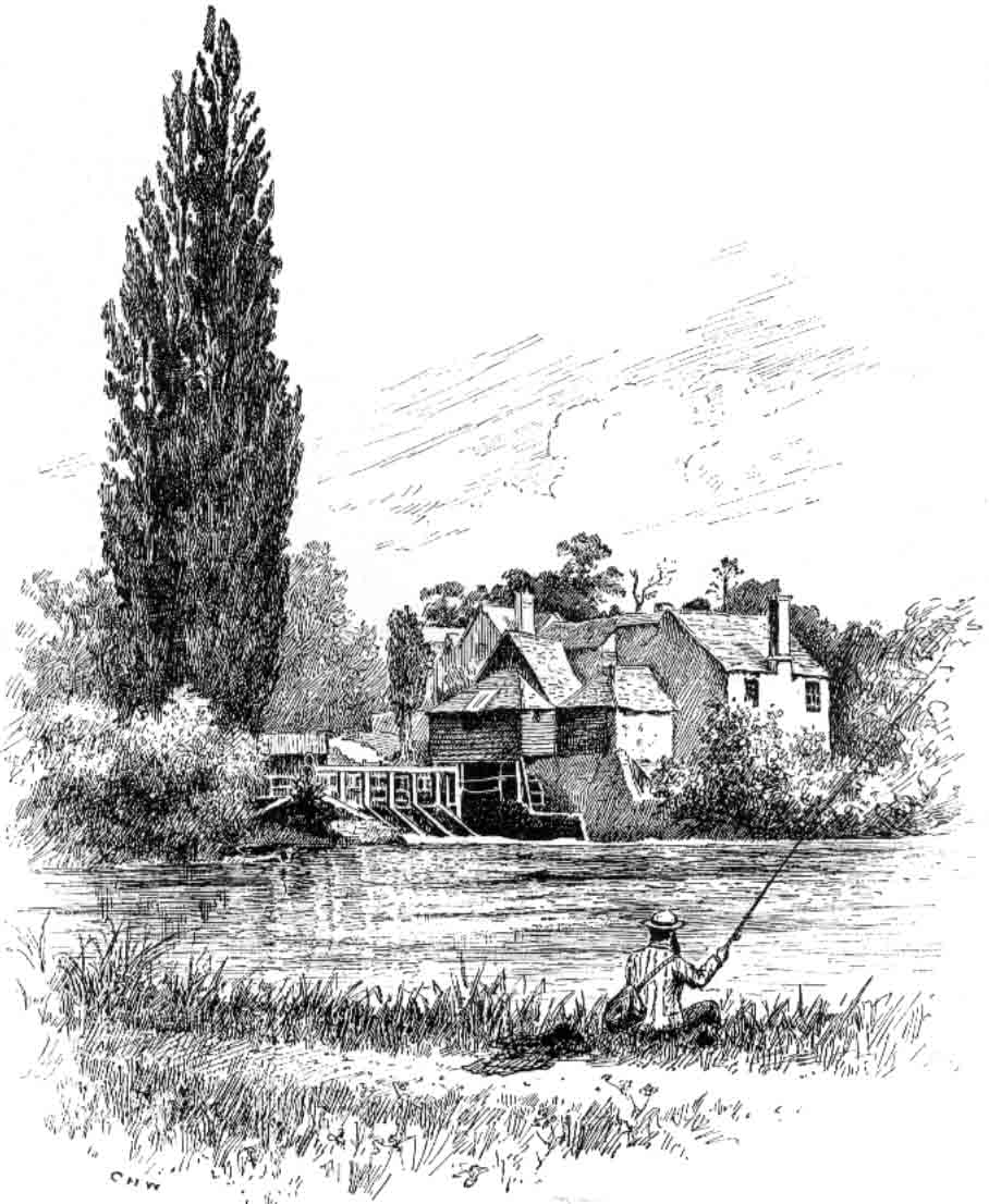 Iffley Mill 1885, The Royal River