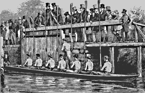 Oxford Bumps start before 1825