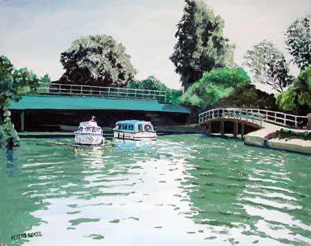Osney Railway Bridges, Doug Myers � 2005