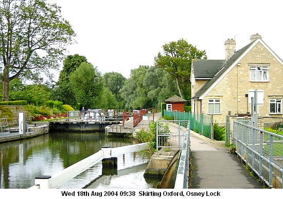 Above Osney Lock, 2004