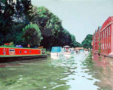Osney Road Bridge, Doug Myers � 2005