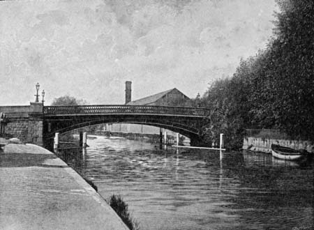 Osney Bridge, James Dredge, 1897