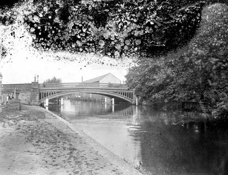 Osney Bridge, Henry Taunt, 1920