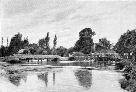 Below Medley Weir, James Dredge, 1897