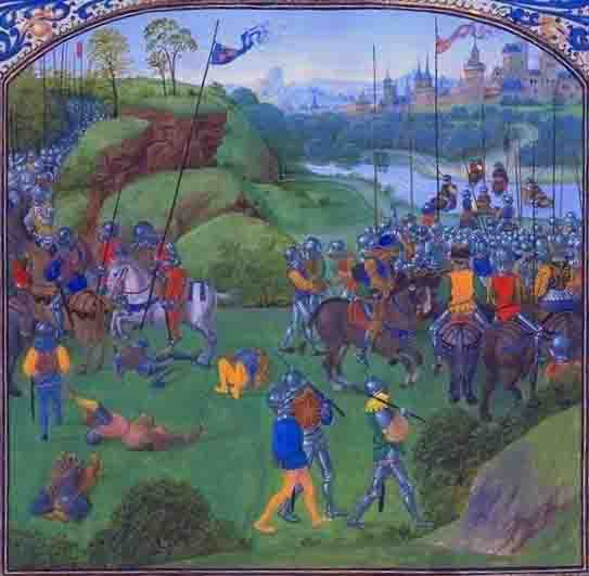 Battle of Radcot Bridge, 1387