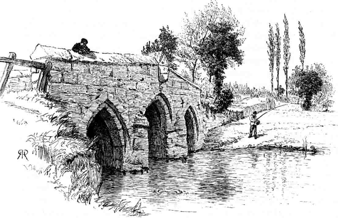 1885: Radcot Old Bridge