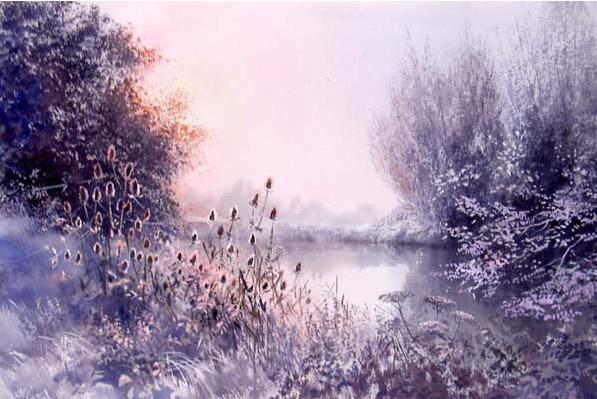 First frost - Kelmscott, Ashley Bryant