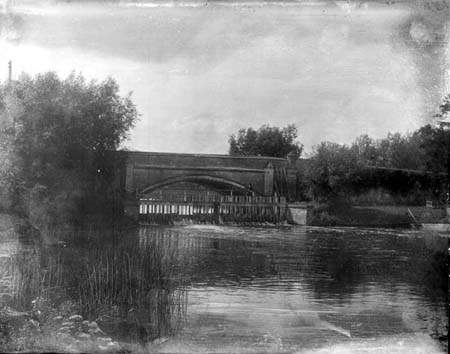 St John's Weir and Bridge, Henry Taunt, 1902