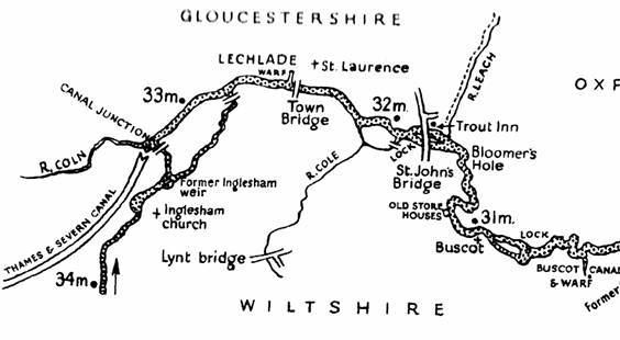 Lechlade Map 1920