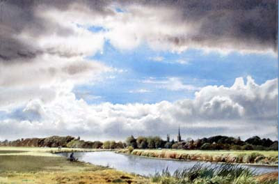 The River Thames near Lechlade, Ashley Bryant