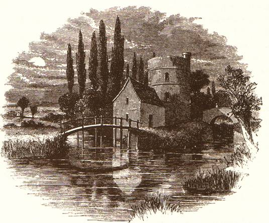 Lechlade Roundhouse and Canal, 1859