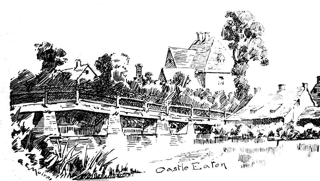 Castle Eaton Bridge 1889
