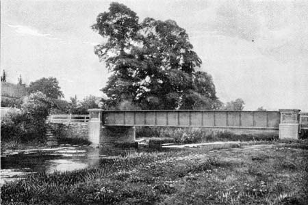 Castle Eaton Bridge, James Dredge, 1897